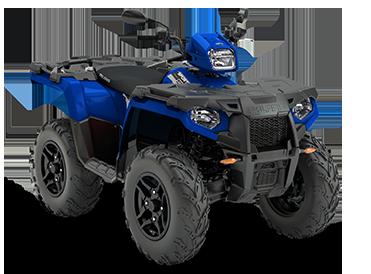 Polaris 570 EPS radar blue ATV