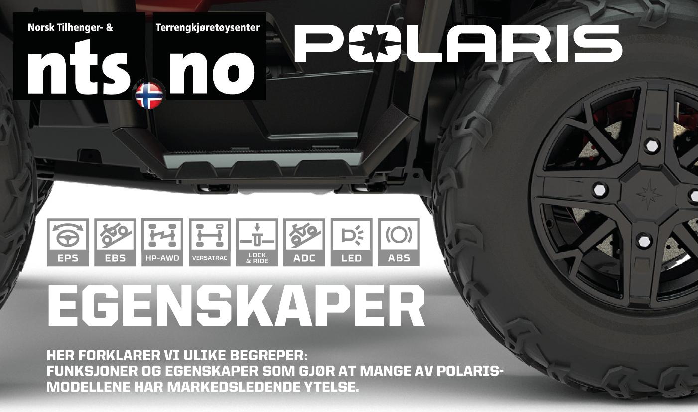 Polaris ATV begreper NTS