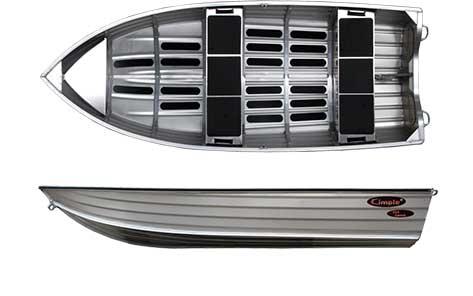 Alubåt Aluminiumsbåt