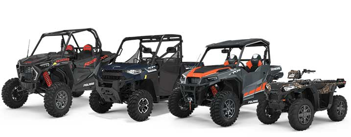 Polaris ATV og UTV Sportsman Ranger RZR og General